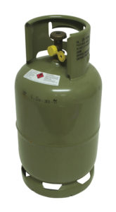 oude gasfles 5 ltr